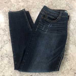 Jolt blue skinny jeans